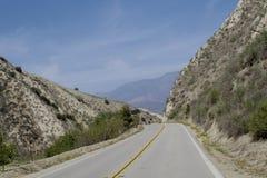 Strada Santa Rosa California della montagna Fotografia Stock Libera da Diritti