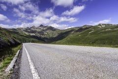 Strada scenica della montagna Immagine Stock