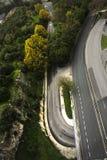 Strada senza automobili fotografia stock libera da diritti