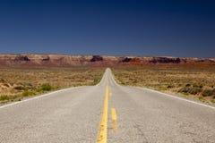 Strada senza fine Fotografia Stock Libera da Diritti