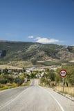Strada spagnola Fotografia Stock Libera da Diritti