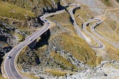 Strada spettacolare attraverso le montagne Immagine Stock