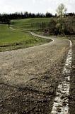 Strada sporca Fotografia Stock