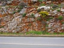 Strada su Creta Immagini Stock Libere da Diritti