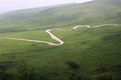 Strada sulla montagna Immagine Stock Libera da Diritti