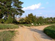 Strada trasversale Fotografia Stock