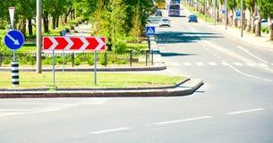 Strada trasversale Immagine Stock Libera da Diritti
