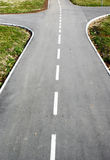 Strada trasversale sul modo Fotografia Stock