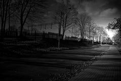 Strada in una città Fotografia Stock Libera da Diritti
