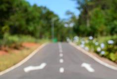 Strada vaga di via e dell'albero immagini stock libere da diritti
