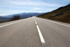 Strada veloce Fotografia Stock