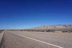 Strada, vista di prospettiva Fotografie Stock Libere da Diritti