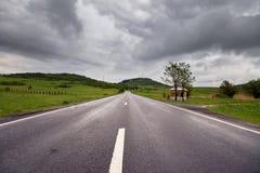 Strada vuota Immagini Stock Libere da Diritti