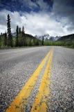 Strada vuota nel Canada Fotografia Stock Libera da Diritti