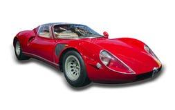 1968 33 Stradale阿尔法・罗密欧跑车 免版税库存照片