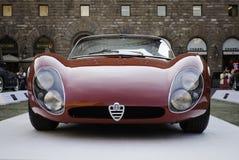Stradale 1967 Alfa Romeos 33 Stockfotografie
