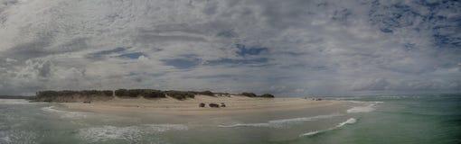 Stradbroke wyspa Queensland Zdjęcie Royalty Free
