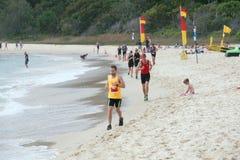 Straddie salutu Triathlon festiwal Obraz Stock