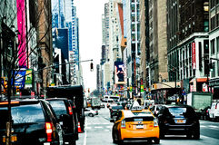 Vie di New York Fotografia Stock