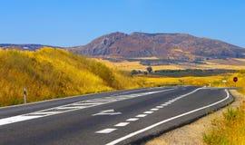 Strade in Andalusia Fotografia Stock Libera da Diritti