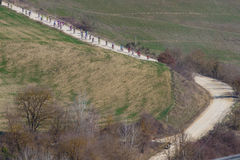 Strade Bianche 2012 Stock Photography