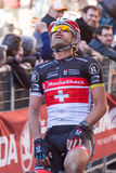 Strade Bianche 2012 Royalty Free Stock Image