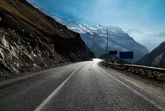 Strade della montagna immagine stock libera da diritti