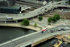 Strade di Stoccolma Fotografia Stock