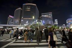 Strade di Tokyo Fotografia Stock