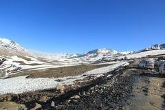 Strade nel ladakh Fotografia Stock