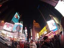 Strade trasversali del Times Square Fotografie Stock