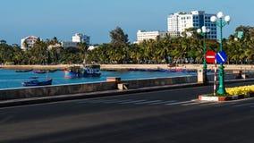 Strade trasversali della città in Vung Tau Immagini Stock Libere da Diritti