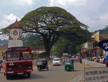 Strade trasversali nello Sri Lanka Immagini Stock