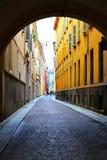 Stradina a Parma Immagine Stock Libera da Diritti
