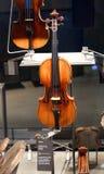 Stradivari fiol Arkivfoton