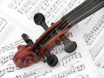 stradivariusfiol Royaltyfria Bilder