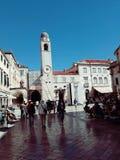 Stradun,杜布罗夫尼克,克罗地亚 免版税图库摄影