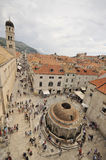 Stradun Dubrovnik Photos stock