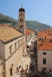 Stradun. Dubrovnik. Croatia Stock Photography