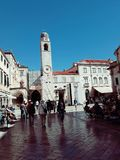 Stradun, Dubrovnik, Kroatien lizenzfreie stockfotografie