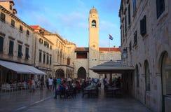 Stradun, Dubrovnik Royalty Free Stock Photo