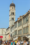 Stradun en Dubrovnik Imágenes de archivo libres de regalías