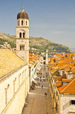 Stradun, main street of Dubrovnik Stock Photos