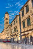 Stradun (Placa), Dubrovnik, Dalmatia, Croatia Royalty Free Stock Photography