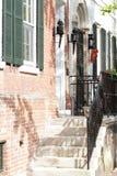 Straße in Alexandria, Virginia Stockfotografie