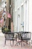 Straße in Alexandria, Virginia Lizenzfreie Stockfotos