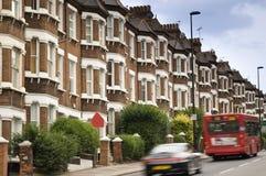 Straße in London. Stockfotografie