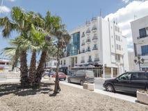 Straße in Tunis Lizenzfreie Stockfotografie