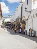 Straße in Tunis Stockfotografie