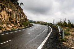 Straße zu Dalat Stockfoto